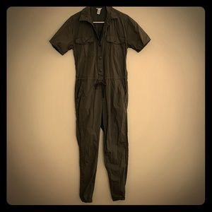 Forever21 military inspired jumpsuit